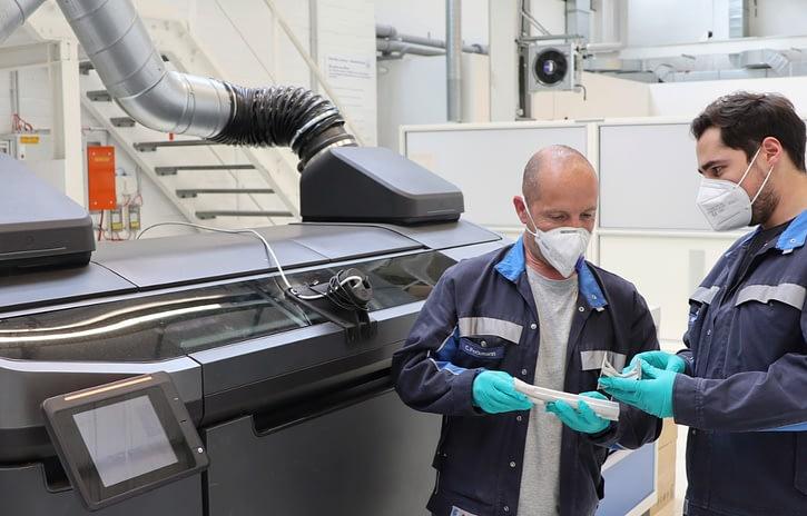 Imagem ilustrativa da notícia: Volkswagen adota novo processo de impressão 3D