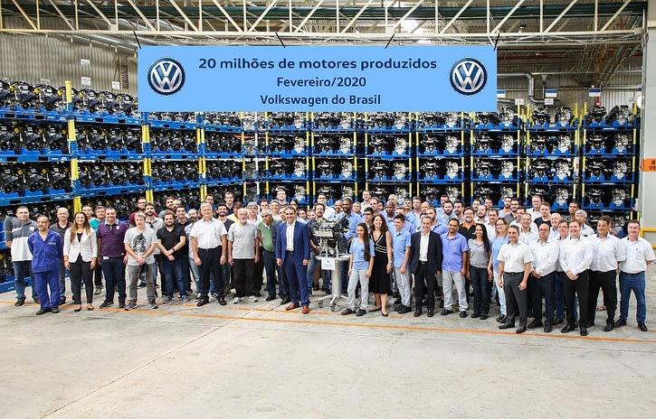 Imagem ilustrativa da notícia: Volkswagen chega a 20 milhões de motores produzidos