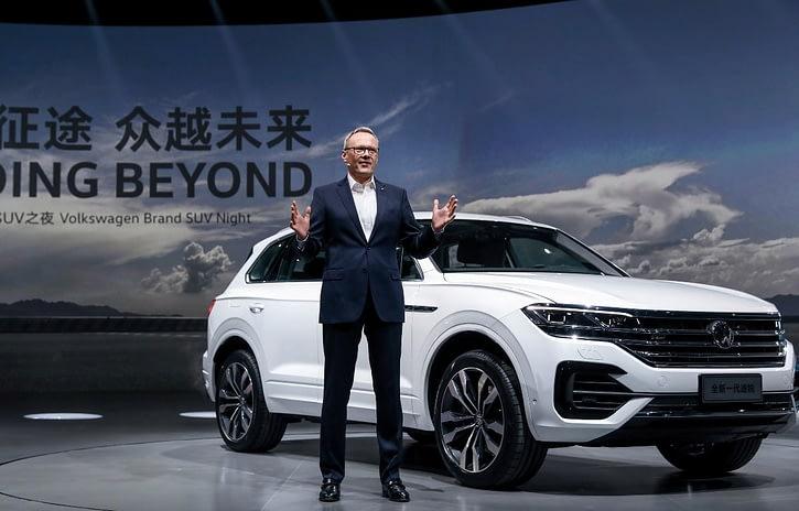 Imagem ilustrativa da notícia: VW apresenta novos SUVs na China