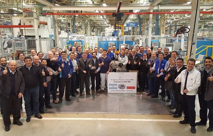 Imagem ilustrativa da notícia: Volkswagen começa a exportar nova transmissão de Córdoba