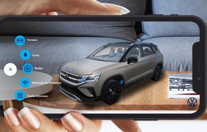 Imagem ilustrativa da notícia: Volkswagen e Pinterest criam test drive virtual do elétrico ID.4