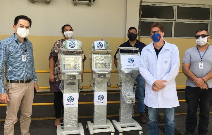 Imagem ilustrativa da notícia: Volkswagen entrega seis ventiladores pulmonares