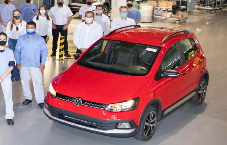 Imagem ilustrativa da notícia: Volkswagen Fox se despede das linhas de São José dos Pinhais