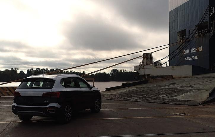 Imagem ilustrativa da notícia: Volkswagen Argentina começa a enviar o Taos para o Brasil