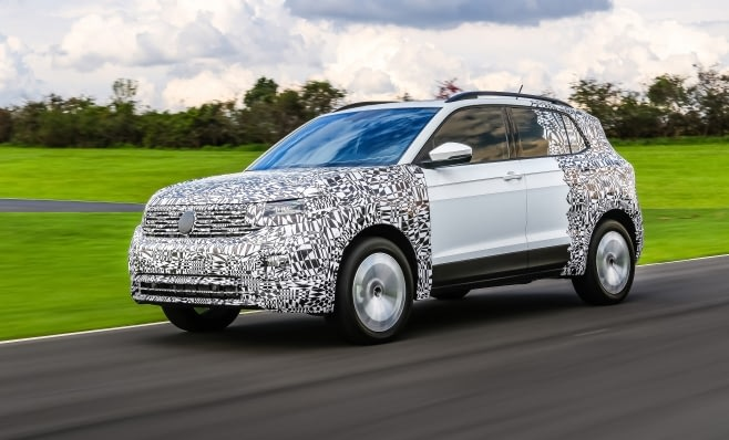 Imagem ilustrativa da notícia: Volkswagen revela um pouco mais do T-Cross