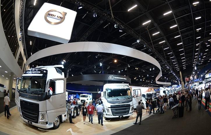 Imagem ilustrativa da notícia: Volvo estima R$ 1 bilhão em negócios na Fenatran