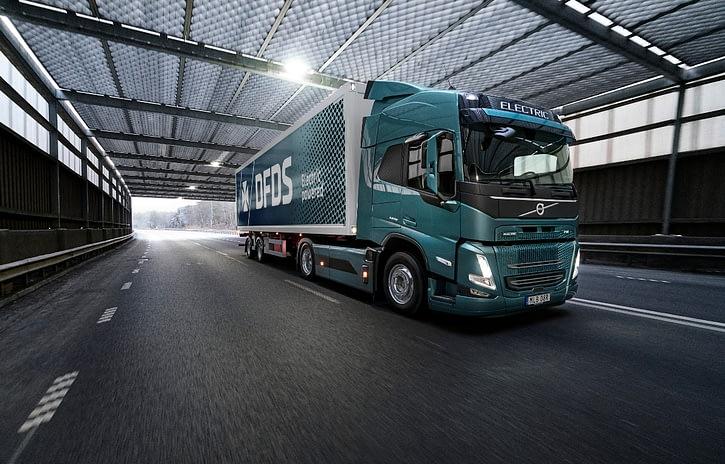 Imagem ilustrativa da notícia: Volvo recebe pedido recorde de caminhões elétricos na Europa