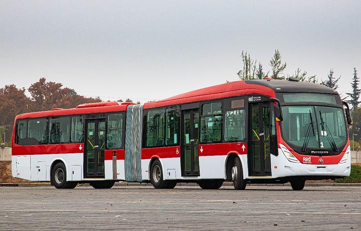 Imagem ilustrativa da notícia: Volvo vende 200 ônibus para operadora chilena