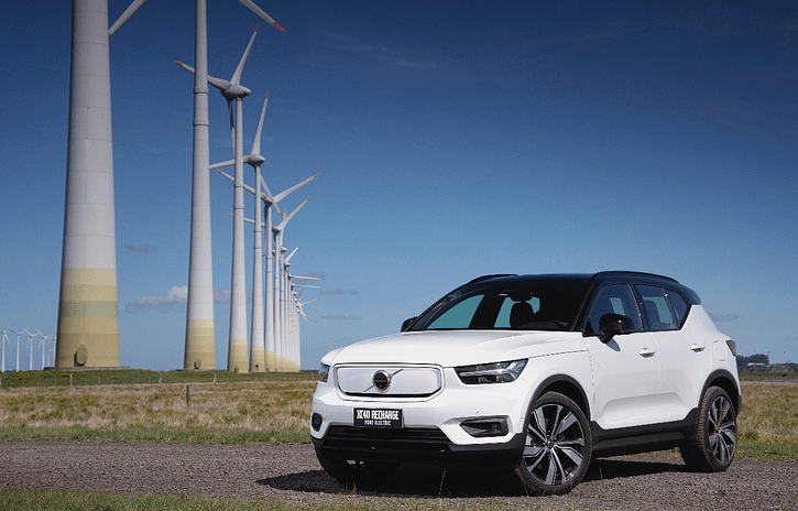 Imagem ilustrativa da notícia: Volvo XC40 elétrico chega com pretensão de ser líder já em 2021