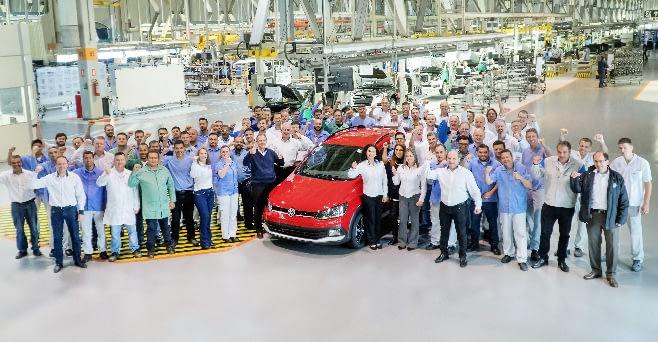 Imagem ilustrativa da notícia: VW produz 2 milhões de Fox no Brasil