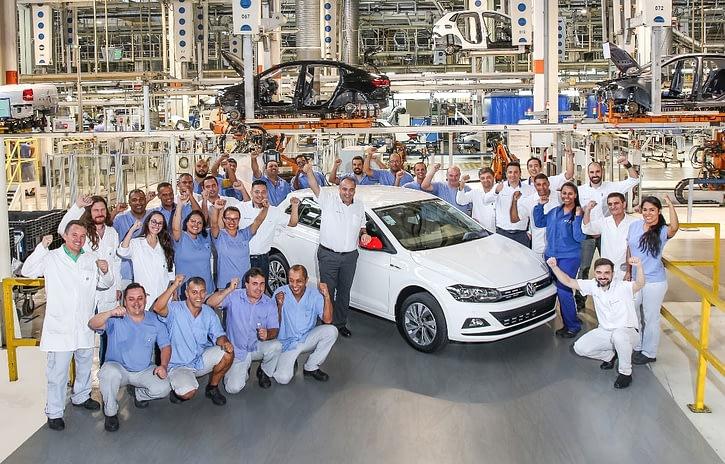 Imagem ilustrativa da notícia: VW Anchieta já produziu 200 mil Polo e Virtus