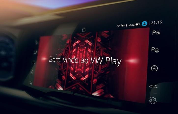 Imagem ilustrativa da notícia: VW Play: novo sistema de conectividade estreia no Nivus.