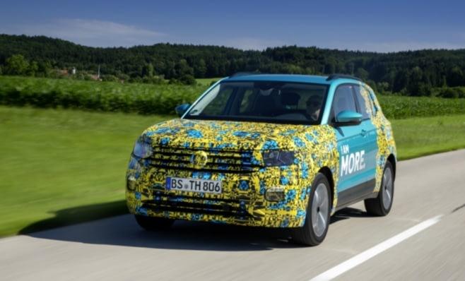 Imagem ilustrativa da notícia: Volkswagen mostra o T-Cross