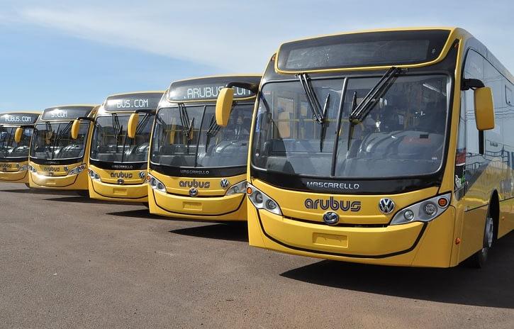 Imagem ilustrativa da notícia: VWCO exporta 15 ônibus para Aruba