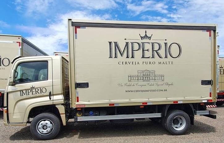 Imagem ilustrativa da notícia: VW Caminhões entrega 400 unidades para Cervejaria Cidade Imperial