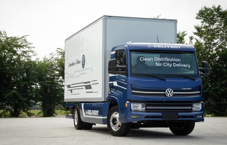 Imagem ilustrativa da notícia: VWCO inicia produção em série do e-Delivery até junho