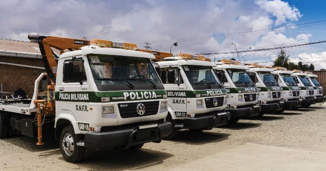 Imagem ilustrativa da notícia: VWCO entrega mais caminhões para Polícia da Bolívia
