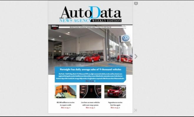 Imagem ilustrativa da notícia: Nova AutoData Weekly Edition no ar