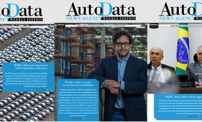 Imagem ilustrativa da notícia: Primeira AutoData Weekly Edition de 2018 já está disponível na internet