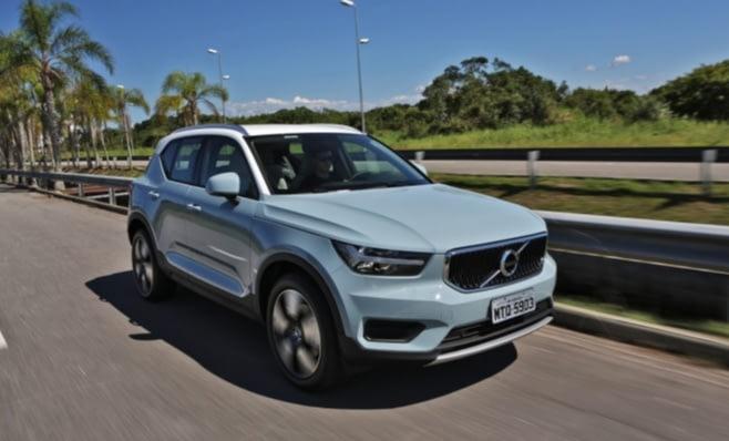 Imagem ilustrativa da notícia: XC40 faz Volvo revisar meta de vendas para 2018