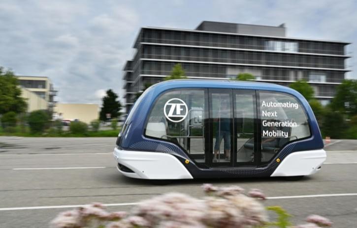 Imagem ilustrativa da notícia: ZF aposta em shuttles autônomos para o transporte
