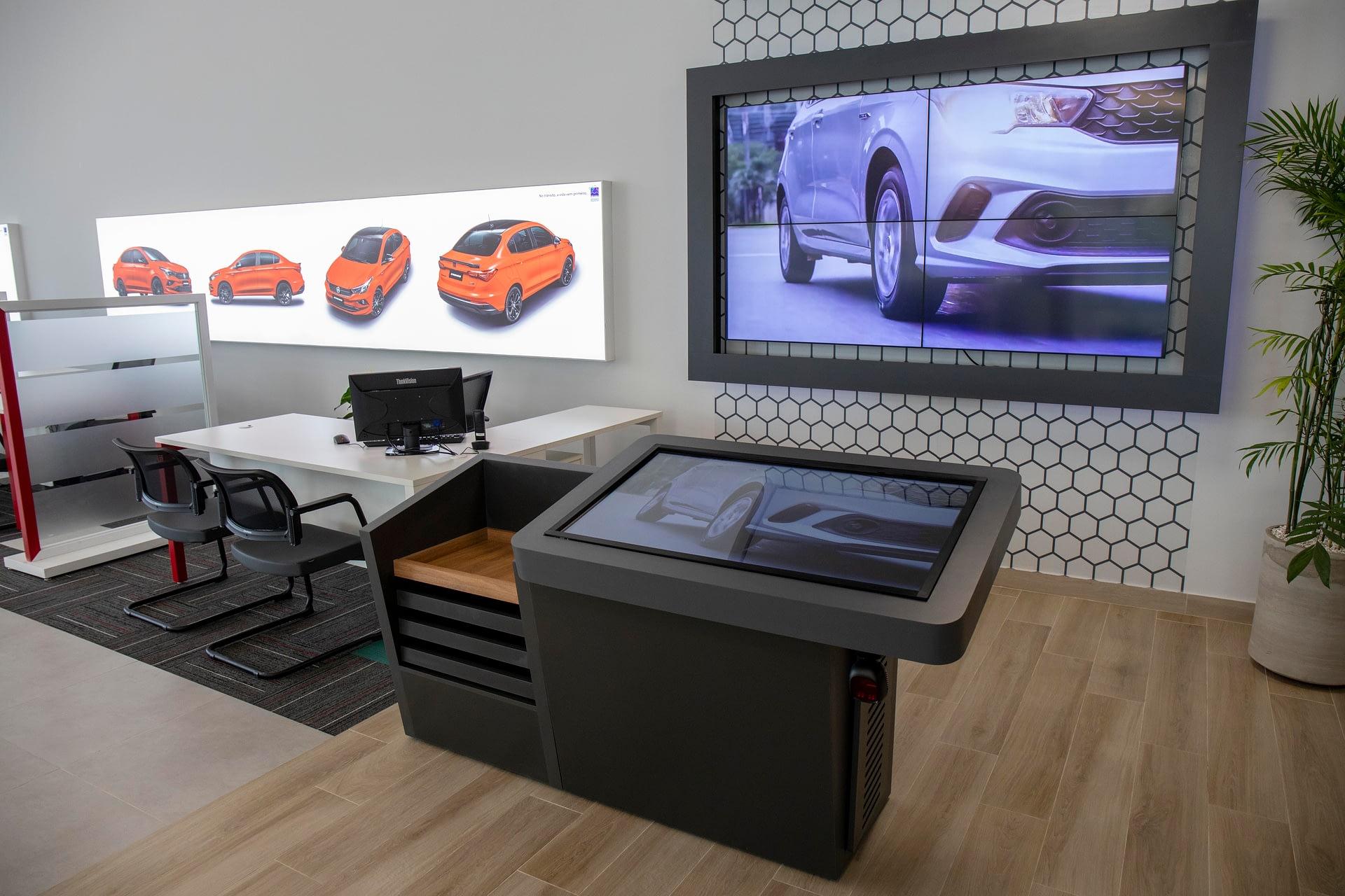 Imagem ilustrativa da notícia: Concessionárias Fiat começam a ganhar novo visual