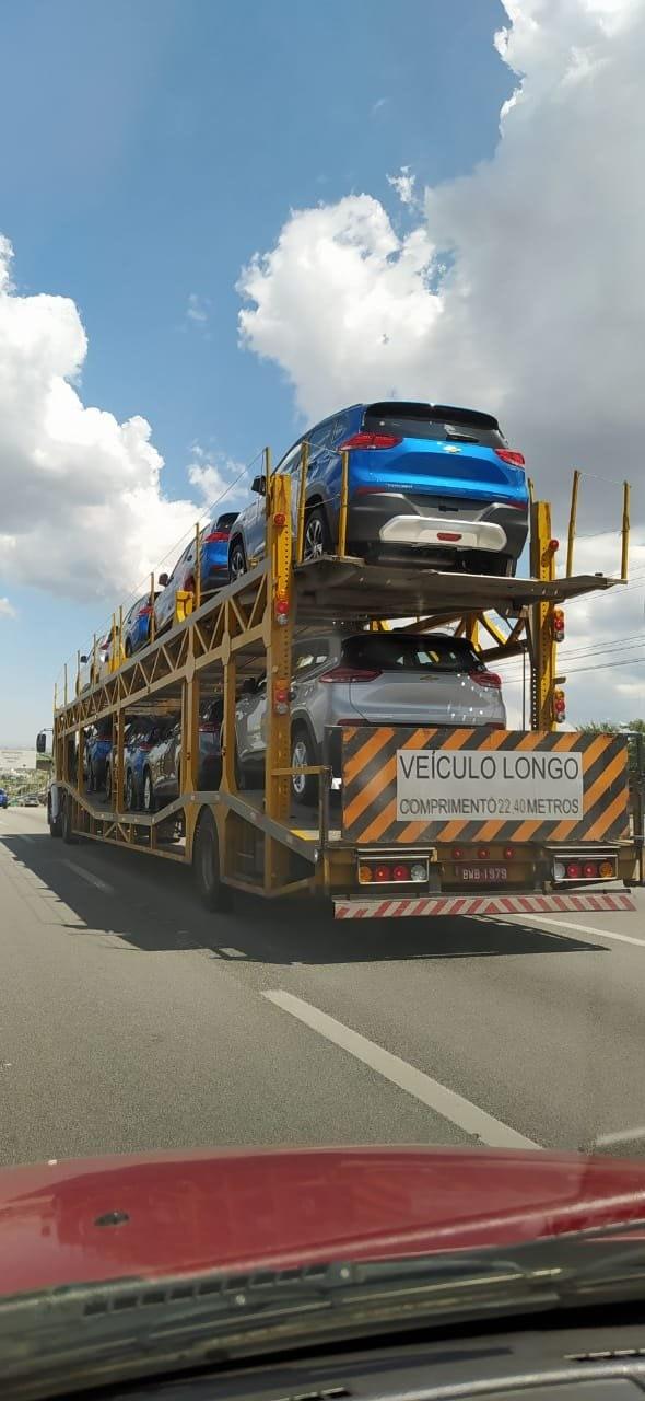 Imagem ilustrativa da notícia: GM divulga primeira imagem oficial do novo Tracker
